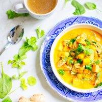 Molee de légumes à la Kéralaise