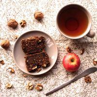 Cake et sablés aux noix